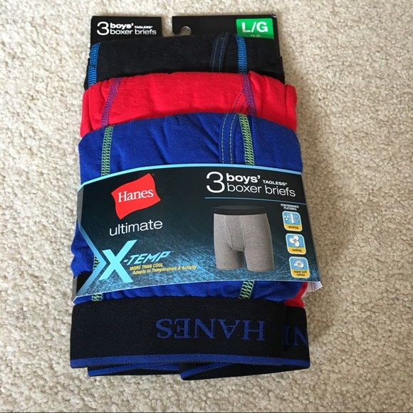 3f69621bd70a Hanes Accessories | 3pack Boxer Briefs Ultimate Xtemp Lg | Poshmark